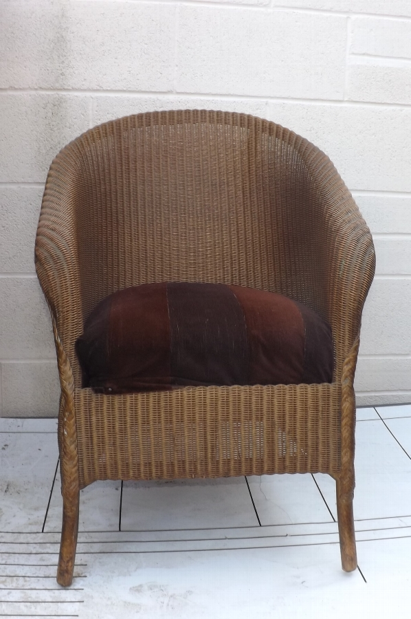 Loyd loom armchair 1930's item condition good