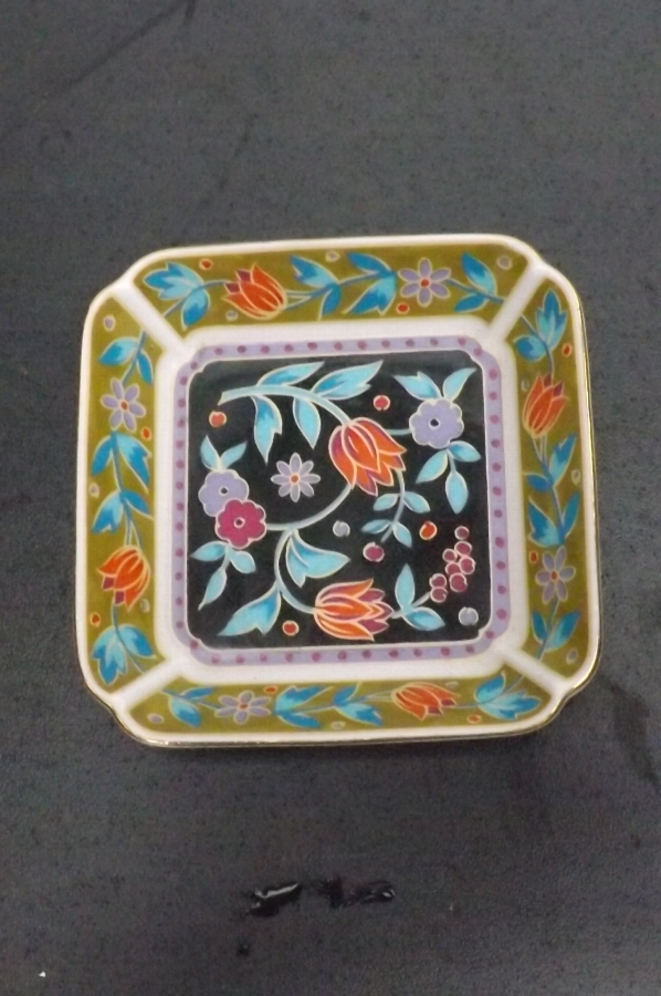 Trinket dish, pottery early Chinese. B29