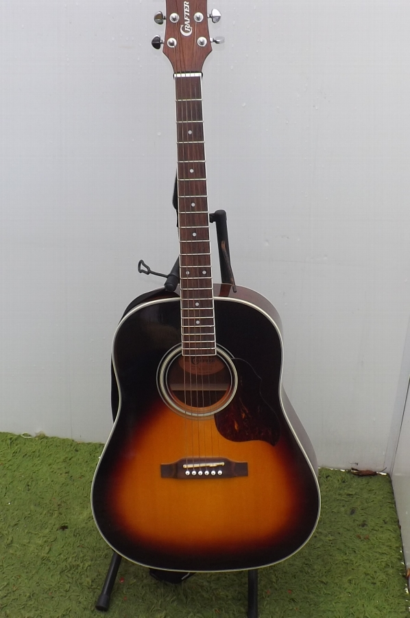 Guitar acoustic Crafter