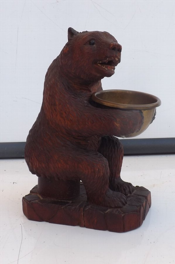 black forest carved Bear. B24