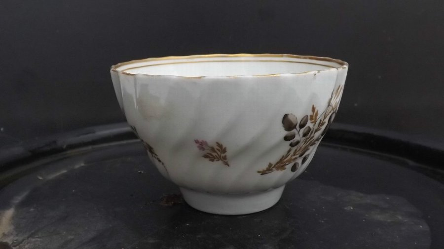 chinese antique cup hand painted