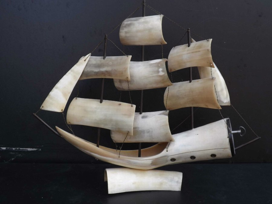 Sailing Ship musical art form in Whale Bone