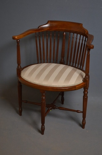 Antique Antique Edwardian chair  sn2590
