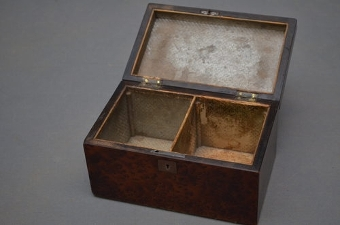 Antique Antique Tea Caddy- Jewellery Box  sn2597