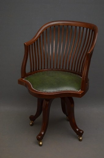 Antique antique Edwardian Office Chair  sn2566
