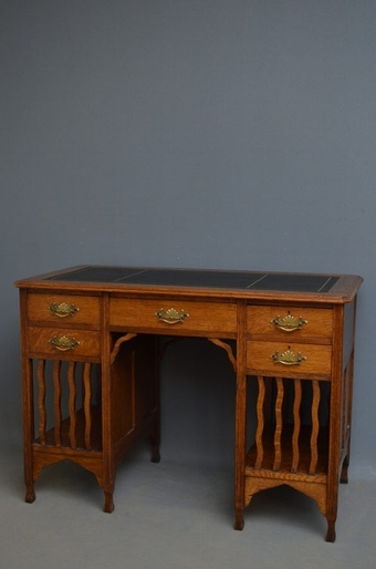 Antique antique Arts and Crafts Writing Table  sn2544