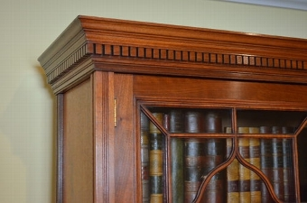 Antique antique Late Victorian Bookcase