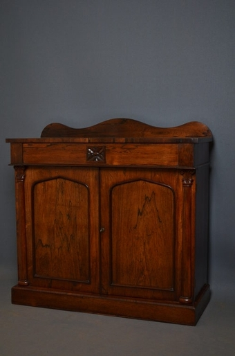 Antique William IV Rosewood Chiffonier sn2510