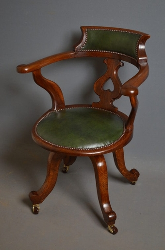 Antique Revolving Office Chair sn2485