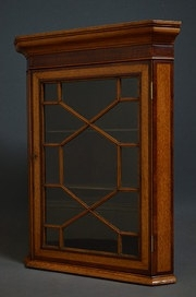 Antique Wall Hanging Small Corner Cupboard sn2503