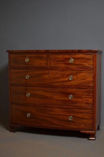 Antique Regency Chest of Drawers sn2403
