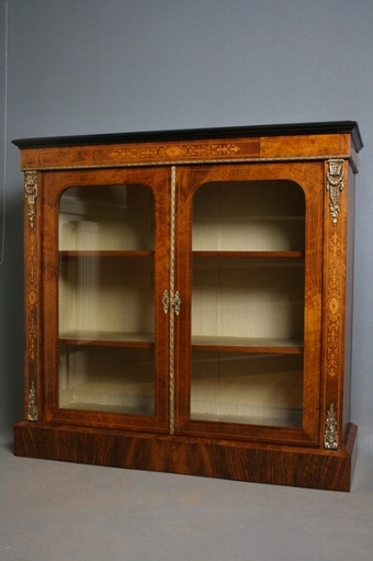Antique Victorian Display Cabinet sn2230