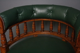 Antique Victorian Office Chair sn2437