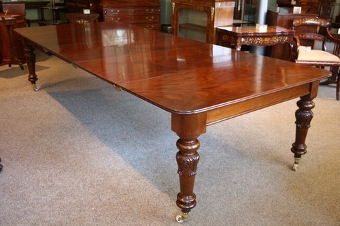 Antique William IV Extending Dining Table sn2209