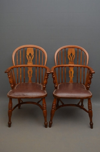 Antique A Pair of Windsor Chairs