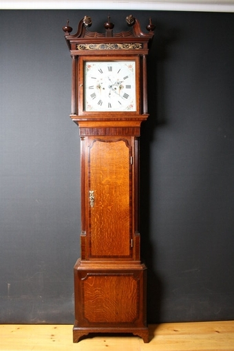 Antique Georgian Longcase Clock sn1088