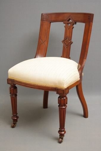 Antique  6 Victorian Chairs SN1123
