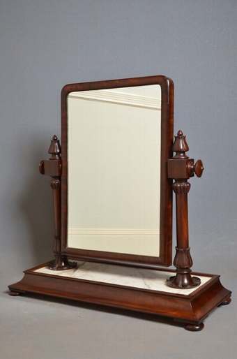 Antique William IV Toilet Mirror