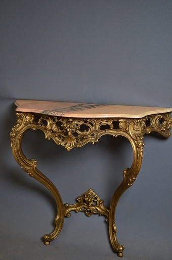 Antique Console Table sn2649