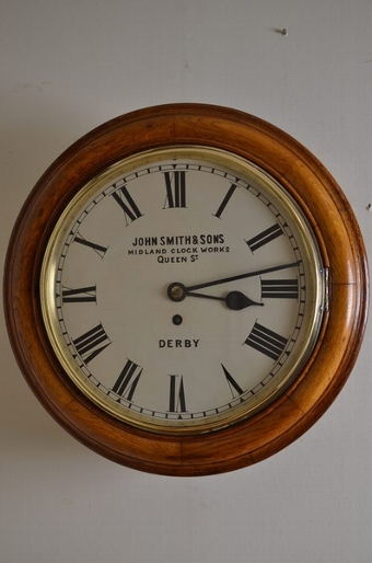 Antique LMS Wall Clock sn2421
