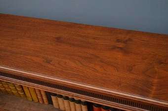 Antique Victorian Open Bookcase sn2643