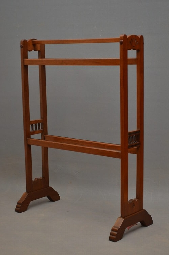 Antique Aesthetic Movement Towel Rail sn2629