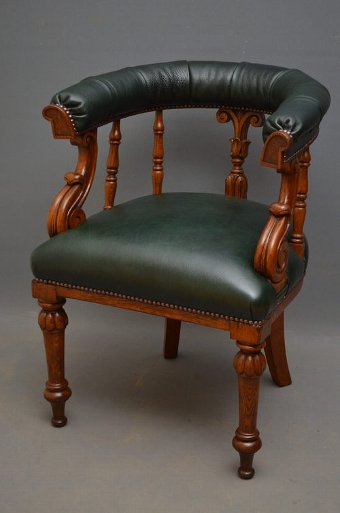 Antique William IV Office - Club Chair sn2612