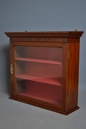 Antique Late Victorian Display Cabinet Sn2907