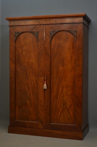 Antique William IV Wardrobe sn2712