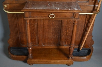 Antique Turn of the Century Hall Stand Sn2753