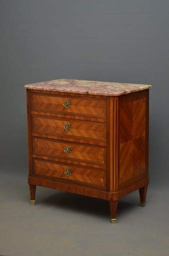 Antique Continental Chest of Drawers sn2798