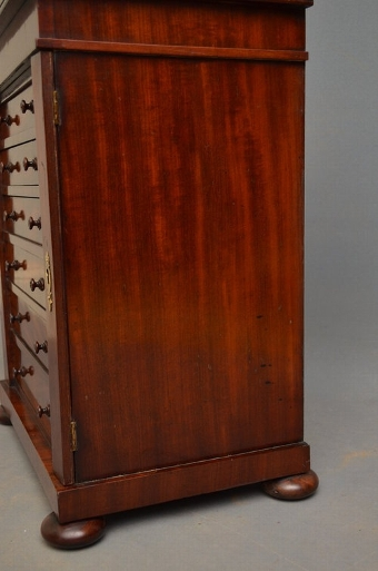 Antique Victorian Collectors Cabinet Sn2867
