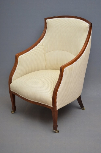 Antique Edwardian Armchair SN2844