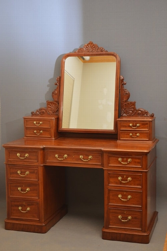 Antique Superb Victorian Dressing Table Sn2943