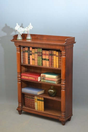Antique Small Victorian Bookshelves Sn2965