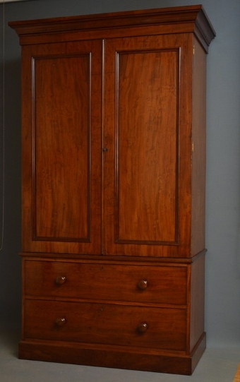 Antique Fine Victorian Wardrobe by Heal & Son, London Sn3105