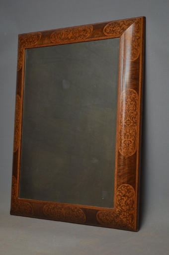 Antique Exceptional Victorian Wall Mirror - Overmantel sn3181