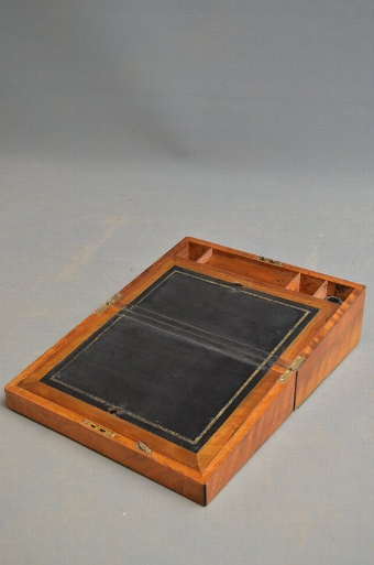 Antique Attractive Victorian Writing Slope / Writing Box