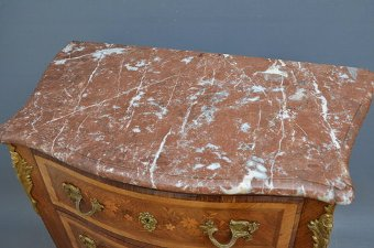 Antique Attractive French Chest of Drawers Sn3544