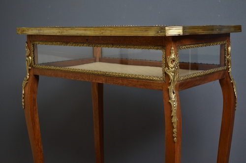 Antique Antique Display Table  sn2603