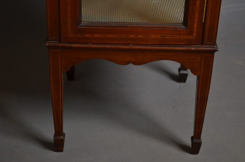 Antique Antique Edwardian Display Cabinet sn2608