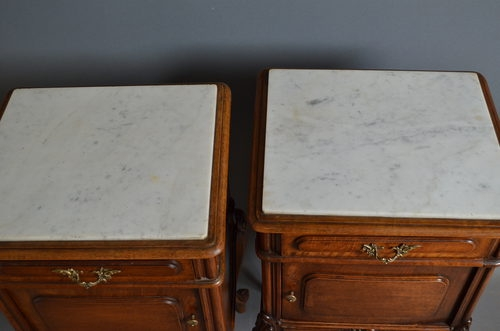 Antique anitque Pair of Bedside Cabinets  sn2593