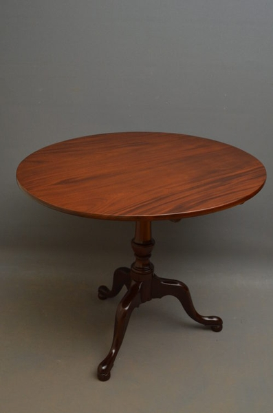 antique Georgian Tilt Top Table