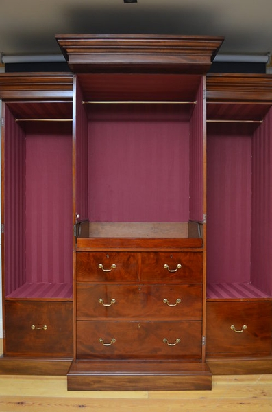 Antique antique William IV Wardrobe sn2549