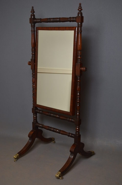 Regency Cheval Mirror sn2527