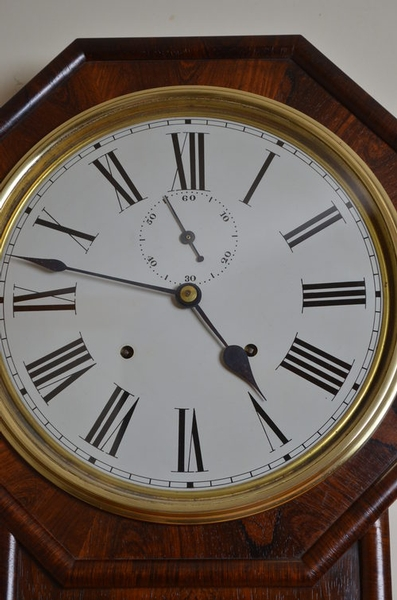 Antique Regulator A Wall Clock sn2187