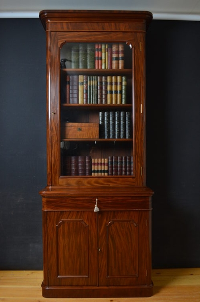 Antique Victorian Bookcase sn547