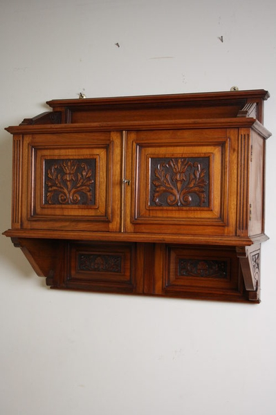 Victorian Wall Hanging Cupboard