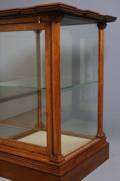 Antique Late Victorian Display Cabinet sn2381