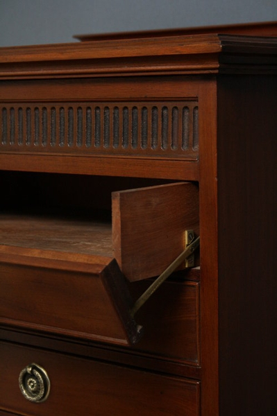 Antique Edwardian Music Cabinet sn2274